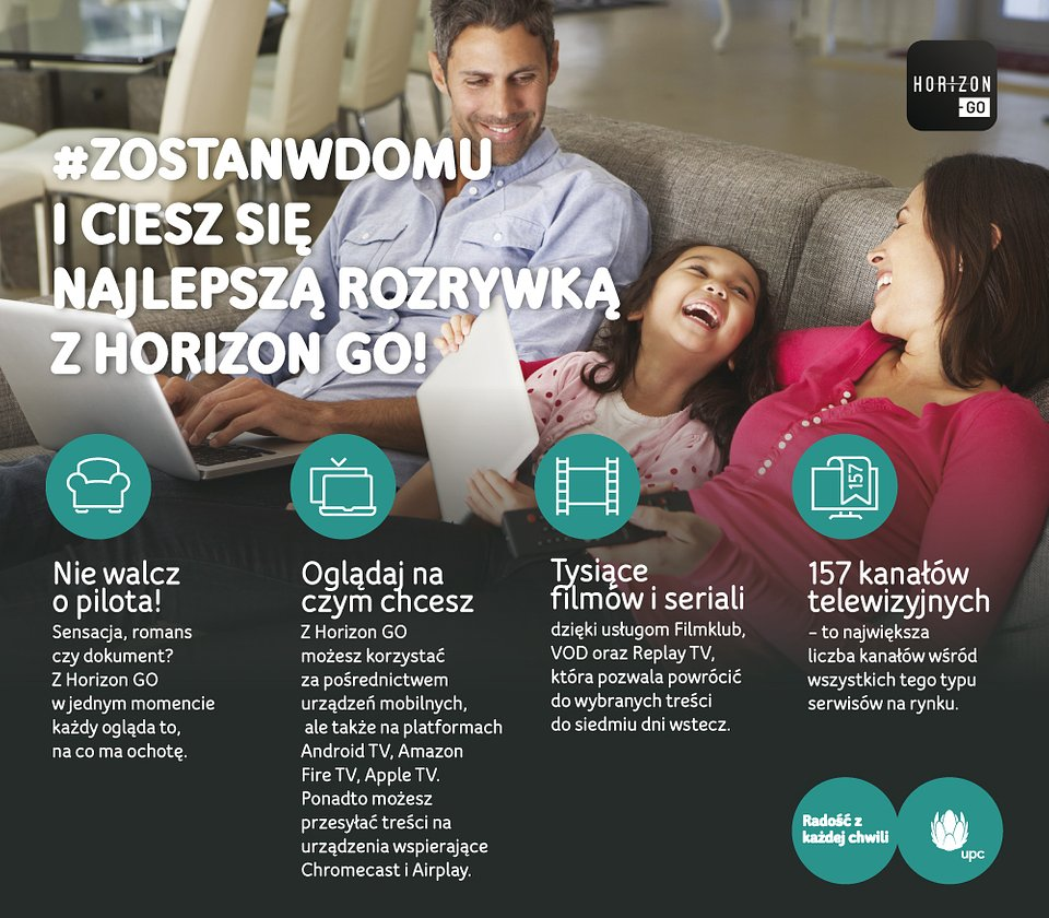 UPC Polska expands Horizon GoUpc Horizon Logo