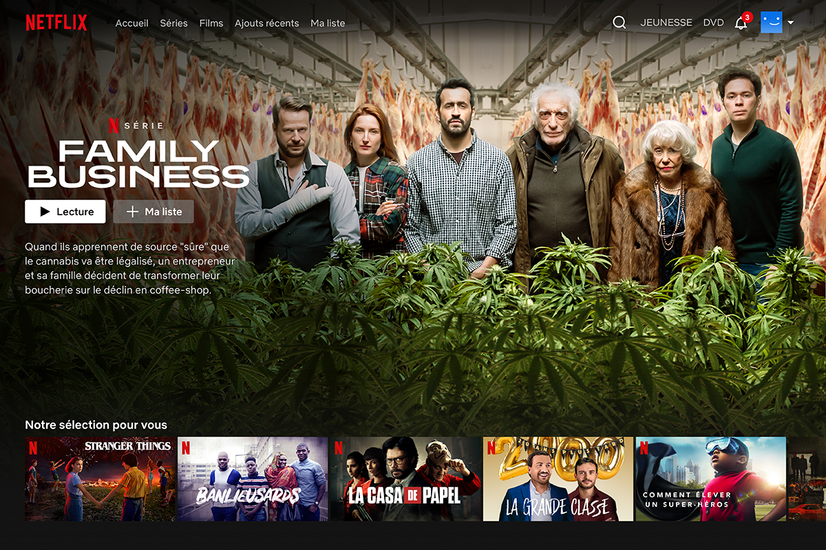 Netflix testing a linear TV-style feature in France