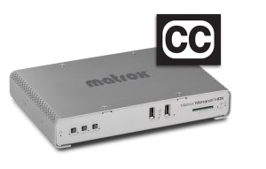 "Matrox® integra la funcionalidad ""CLOSED CAPTIONING"" en Monarch HDX"