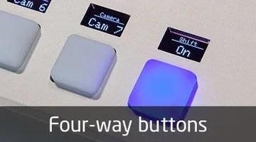 Skaarhoj Four Way Buttons