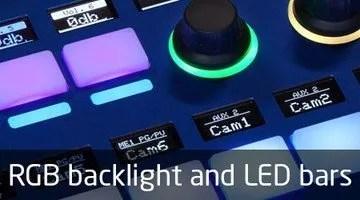 Skaarhoj RGB Backlight LED Bars