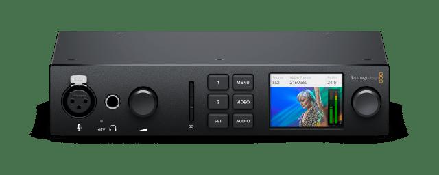 Blackmagic UltraStudio 4K Mini Front Tilt