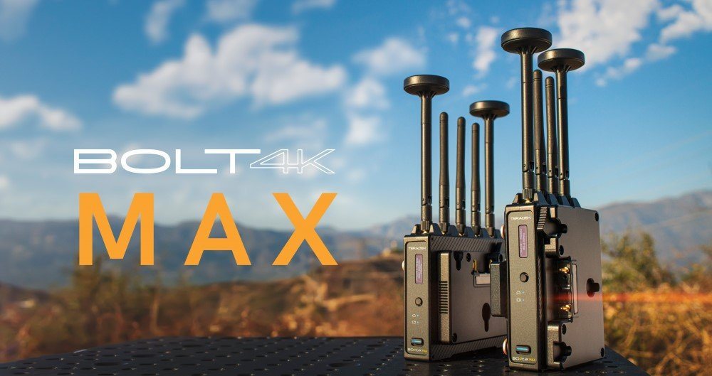Teradek Bolt 4K MAX with Text
