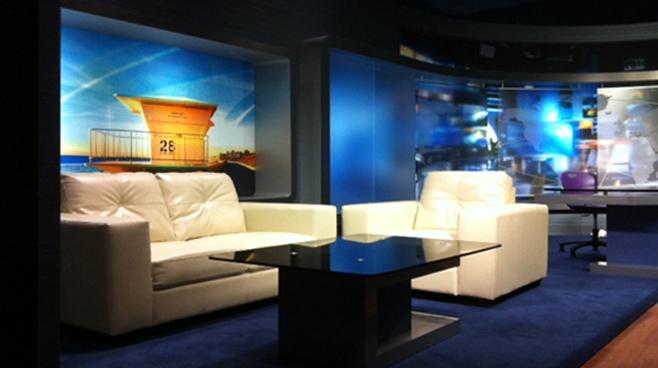 Carlsbad High School Set Design Talk Shows Broadcast