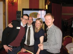 BPG Members Jake Kantor, Paul Revoir, Emily Booth (chairman) and Leigh Holmwood