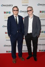 Harry and Jack Williams, writers of The Missing took home the Breakthrough Award