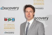 Actor Andrew Buchan, who featured in Best Drama Series The Honourable Woman