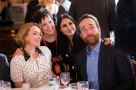 Keeley Hawes at lunch with BPG member Jaci Stephens, ITV's Francesca Evans and Matthew Macfadyen.