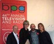 The BPG Awards Team: Torin Douglas, Kate Bulkley, Gareth McLean and Caroline Frost