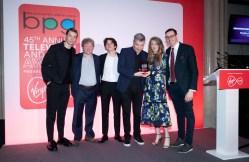 Innovation in Broadcasting award for Charlie Brooker's Black Mirror: Bandersnatch