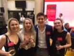 BPG members with Derry Girls' Dylan Llewllyn