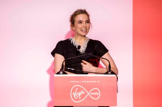 Jodie Comer collects Best Actress award