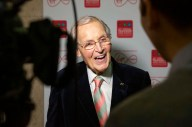 Nicholas Parsons winner of the Harvey Lee Award for Outstanding Contribution to Broadcasting