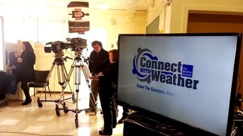 The Weather Channel Connect With Weather, Live News Production