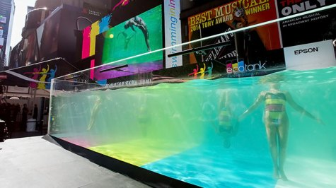 Epson Swimming in Ink, Live Production, Creative Services