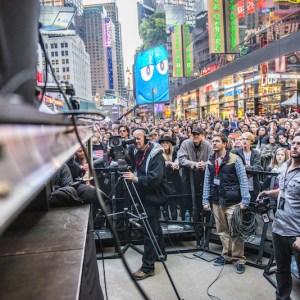 Live Video Production Crew CBGB Music Fest