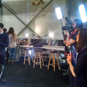Live Video Production Interview New York Fashion Week Yahoo