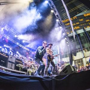 Live Video Production Performance Janes Addiction CBGB Music Festival