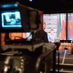 Video Production Studio DC Hillary Clinton Townhall