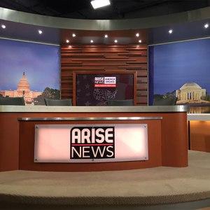 Live Production Arise News Washington DC