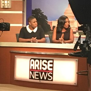 Live Production Arise News DC Town Hall