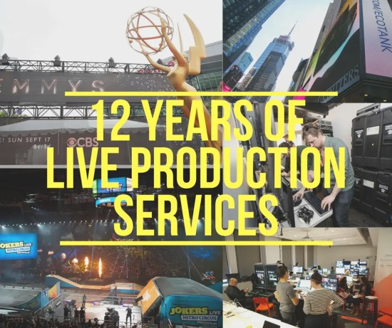 12 Years of Live Production