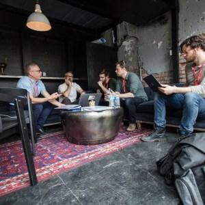 SXSW Mashable Production Meeting