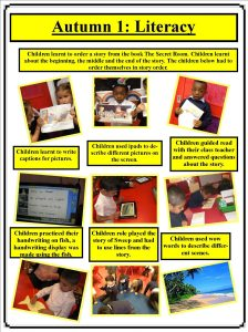 Autumn 1 literacy portfolio