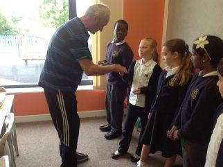 Welcoming the School Councilors