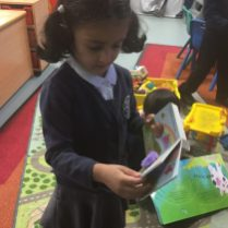 We have been exploring different Incy Wincy Spider books, and how they may tell the rhyme a little differently.