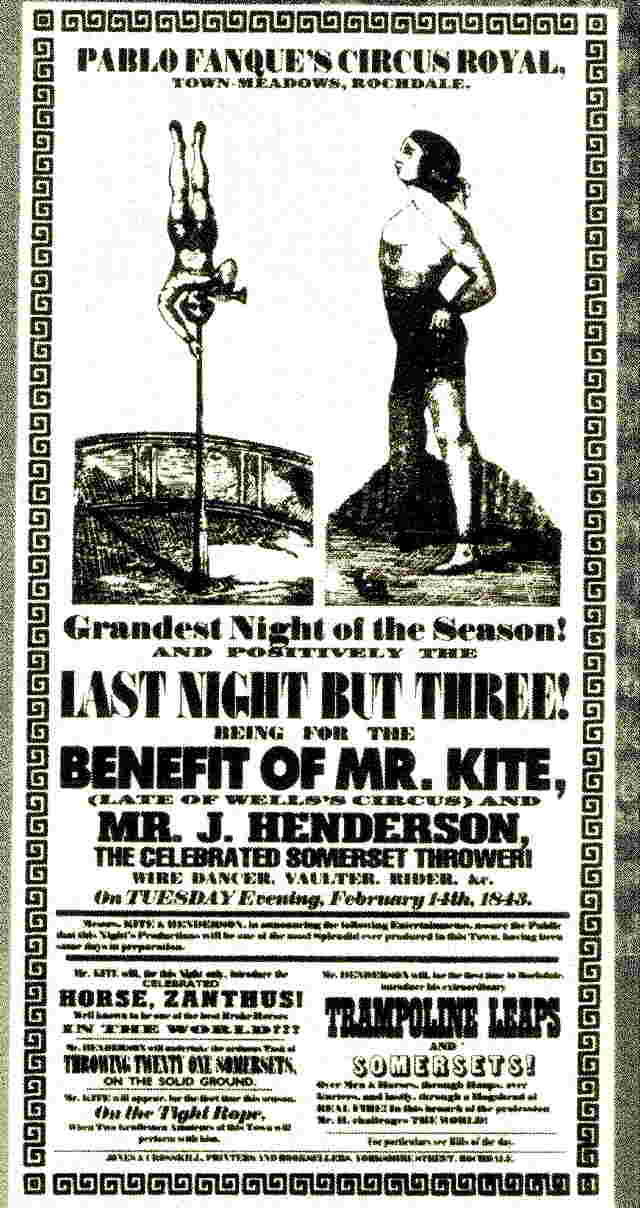 Being for the benefit of Mr. Kite - the poster that inspired the song