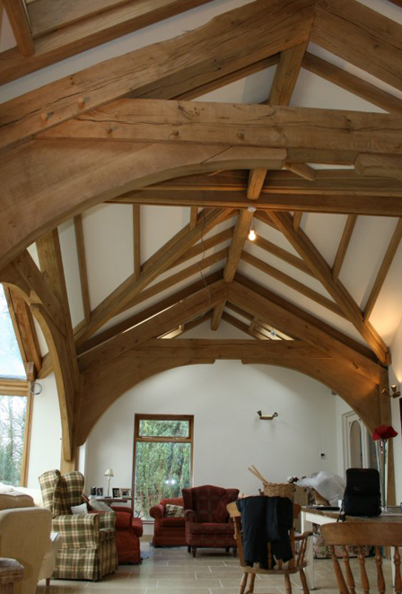 Oak Frames & Roofs Roof Design By Broadleaf Timber