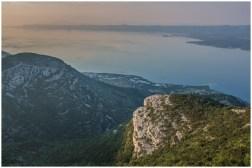 11|06|2014 – Blick auf die Küste bei Bol und Hvar gegenüber