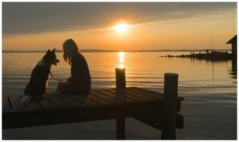 Pepper am Chiemsee: Idylle