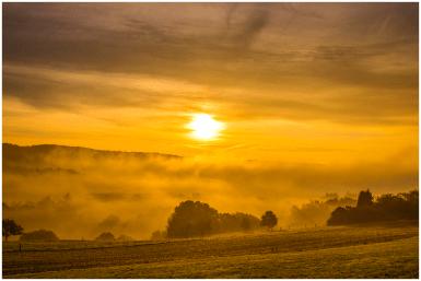 18|10|2014 – Sonnenaufgang bei Salz