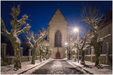 28|12|2014 – Kloster Marienstatt vor Sonnenaufgang