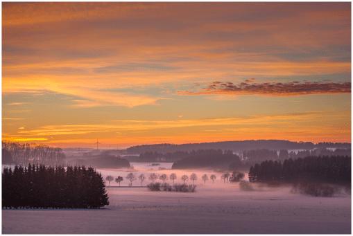 05|01|2015 – Abendstimmung bei Zehnhausen
