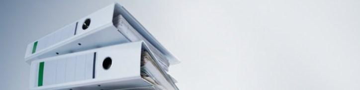 Image of binders folders