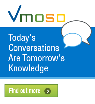 Vmoso Tomorrow's Knowledge ad