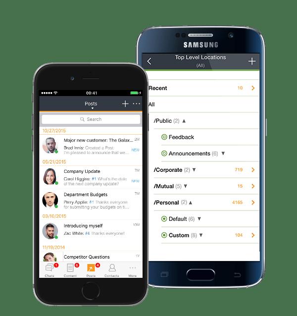 Vmoso Mobile Collaboration tool