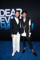 Ben Platt and Nik Dodani attend as Universal Pictures presents the premiere of DEAR EVAN HANSEN at the Walt Disney Concert Hall on Wednesday, September 22, 2021. (Photo: Alex J. Berliner/ABImages)