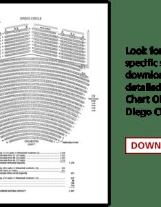 Detailed seating chart also san diego civic theatre broadway rh broadwaysd