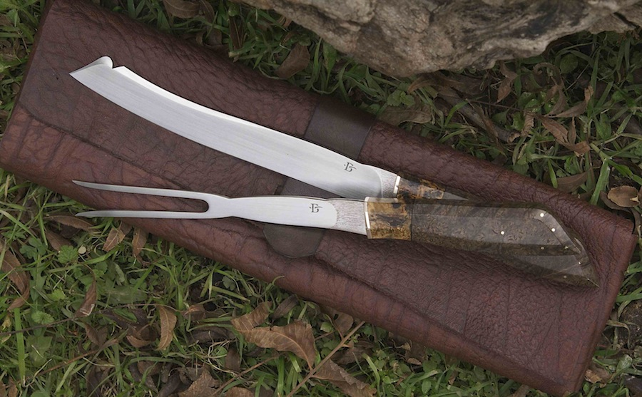 Carving Set by Broadwell