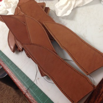 Sheaths almost done