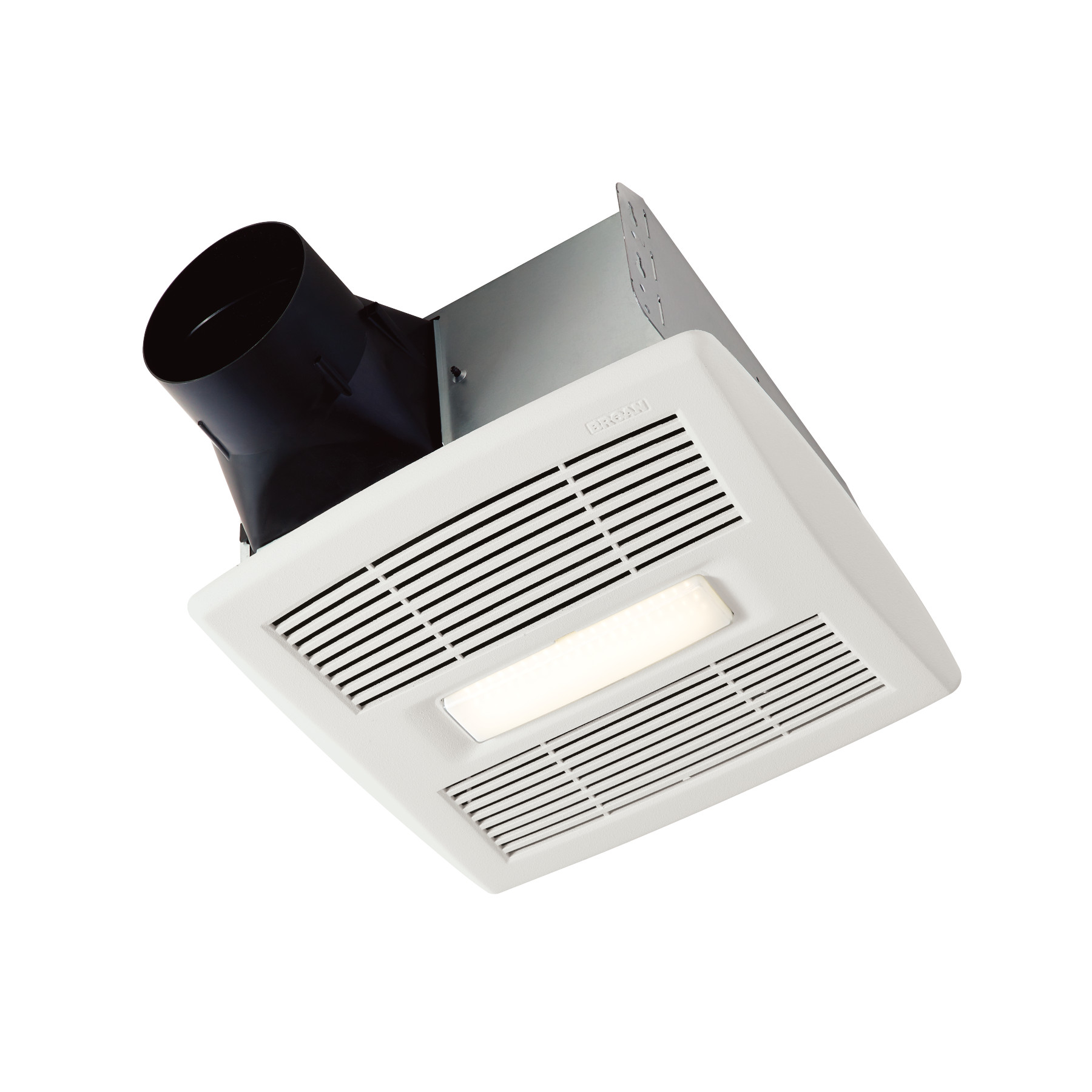 flex series 110 cfm ceiling roomside installation bathroom exhaust fan with light energy star