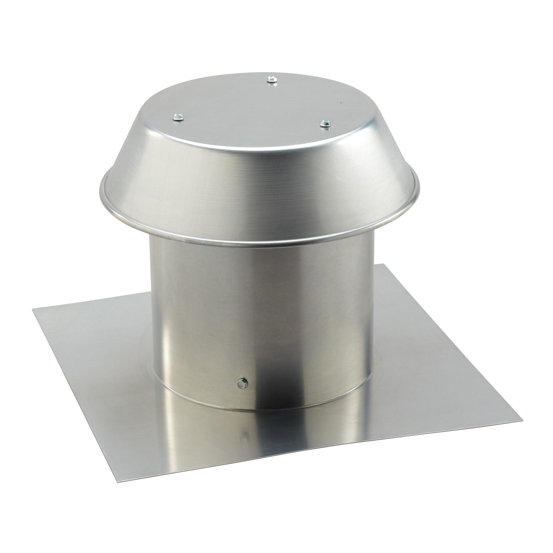 8 inch roof cap for flat roof aluminum