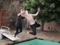 Ever Want To Deliver An RKO To Your Girl? This Guy Did, But Relax, She Asked For It