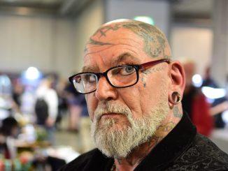 Tattoo man Cees Baerts