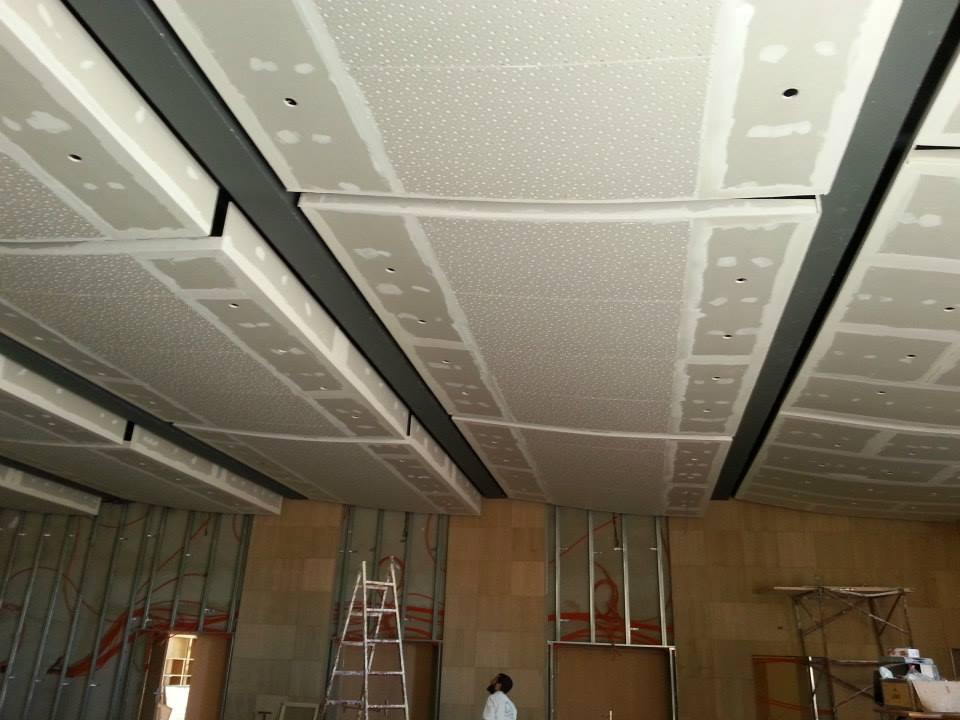 Faux plafond en ba13  Maison  Travaux