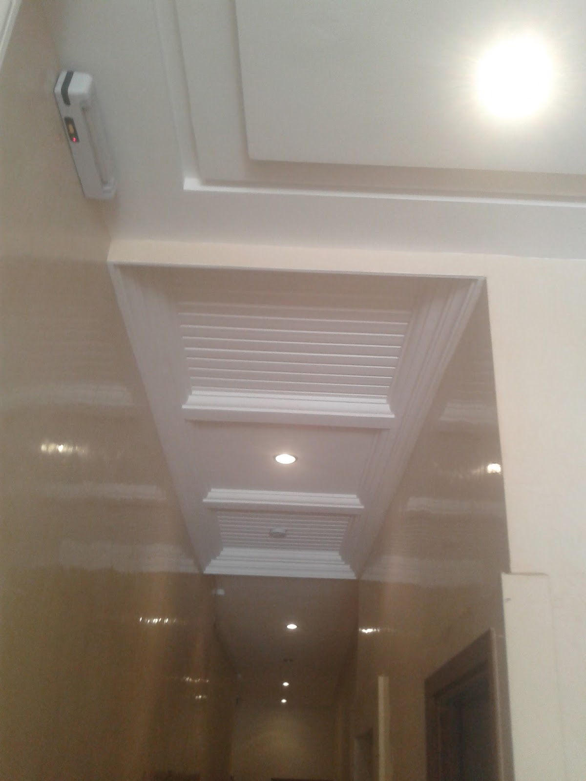 Platre plafond simple  Maison  Travaux
